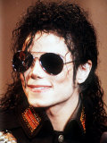Michael Jackson Wearing Sunglasses, c.1990 Fotoprint