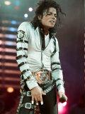 Michael Jackson in Concert at Wembley, July 15, 1988 Fotografie-Druck