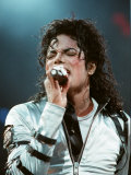 Michael Jackson in Concert at Wembley, July 15, 1988 Fotografisk tryk