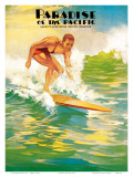 Paradise of Pacific Magazine, c.1930 Posters