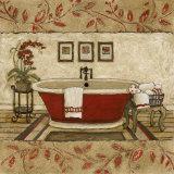 Crimson Moment I Affiches par Charlene Winter Olson