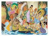 Aloha: Universal Word, Traditional Hawaiian Welcome Kunst af Eugene Savage