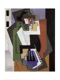 The Accordion Player Kunst af Gino Severini