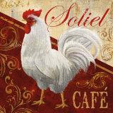 Soliel Cafe Pôsters por Conrad Knutsen