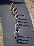 Fourth Stage of Tour de France, Montpellier, July 7, 2009 Fotografisk trykk
