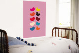 Pink Kiss Wall Mural by  Avalisa