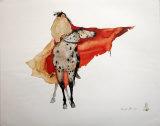 El caminar del guerrero Arte por Carol Grigg