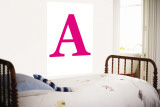 Pink A Wall Mural by  Avalisa