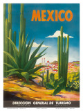 Mexico, Ciudad Juarez, Chihuahua, c.1950 Affiches par  Magallón