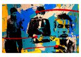 Collage I Kunstdrucke von Bobby Hill