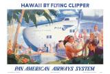 Pan Americans fliegender Klipper Poster
