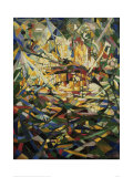 Battle of Lights, Coney Island Pôsteres por Joseph Stella