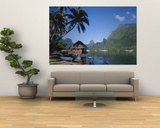 Cook's Bay, Moorea, French Polynesia, South Pacific, Tahiti Wall Mural by Steve Vidler