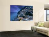 Positano, Amalfi Coast, Italy Mural por Walter Bibikow