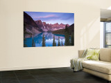 Moraine Lake and Valley of 10 Peaks, Banff National Park, Alberta, Canada Wall Mural by Michele Falzone