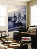 Tower Bridge, London, England Mural por Jon Arnold