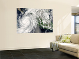 Hurricane Henriette Moving up the Pacific Coast, September 3, 2007 Wall Mural