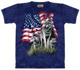 Wolf Flag T-skjorte