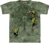 Peace Tree Frog T-Shirts