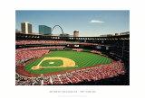 Busch Stadium, St Louis Art by Ira Rosen