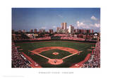 Wrigley Field, Chicago Print by Ira Rosen