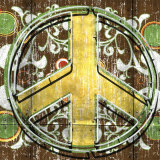 Peace II Plakat af Anthony Ross