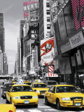 Times Square II Print by John Lawrence