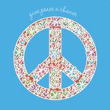 Give Peace a Chance Poster tekijänä Erin Clark