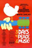 Poster Woodstock festival Print