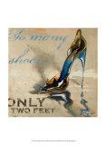 So Many Shoes Kunstdrucke von Lorraine Vail