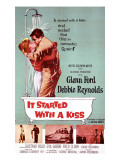 It Started with a Kiss, Debbie Reynolds, Glenn Ford, 1959 Photo