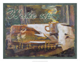 Wake Up and Smell the Coffee Giclée-Druck von Lorraine Vail