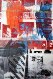 Night Shades & Urban Bourbons Kunstdrucke von Robert Rauschenberg