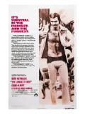 The Longest Yard, Burt Reynolds, 1974 Fotografia