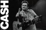 Johnny Cash- Folsomin vankila Poster