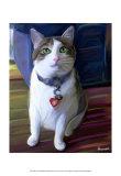Elvis Cat Pôsters por Robert Mcclintock