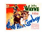 Ride Him Cowboy, John Wayne, 1932 Fotografía