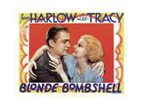 Blonde Bombshell, Lee Tracy, Jean Harlow 1933 Photo