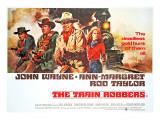 The Train Robbers, Rod Taylor, Ben Johnson, John Wayne, Ann-Margret, 1973 Foto