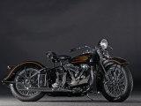 1937 Harley Davidson ELS Knucklehead Valokuvavedos tekijänä S. Clay