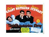 The Philadelphia Story, Katharine Hepburn, Cary Grant, James Stewart, 1940 Foto