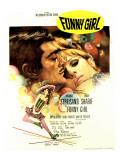Funny Girl, Omar Sharif, Barbra Streisand, 1968 Fotografia