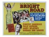 Bright Road, Dorothy Dandridge, Harry Belafonte, 1953 Foto