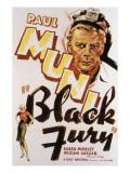 Black Fury, Paul Muni, 1935 Photo