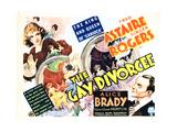 La alegre divorciada, Ginger Rogers, Fred Astaire, 1934 Fotografía