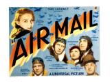 Air Mail, Gloria Stuart, Russell Hopton, Ralph Bellamy, Lilian Bond, Pat O'Brien, 1932 Foto