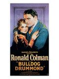 Bulldog Drummond, Joan Bennett, Ronald Colman, 1929 Photo