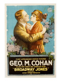 Broadway Jones, George M. Cohan, Marguerite Snow, 1917 Photo