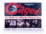 Caged, Eleanor Parker, Agnes Moorehead, Hope Emerson, 1950 Foto