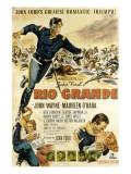 Rio Grande, John Wayne, Claude Jarman Jr., Maureen O'Hara, 1950 写真